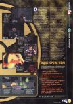 Scan of the preview of Duke Nukem 64 published in the magazine N64 06