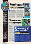 Scan of the preview of Forsaken published in the magazine N64 06