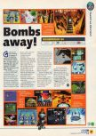 Scan of the preview of Bomberman 64 published in the magazine N64 06