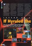 Scan of the preview of The Legend Of Zelda: Ocarina Of Time published in the magazine N64 06