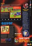 Scan of the preview of Holy Magic Century published in the magazine N64 06