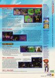 Scan of the walkthrough of Pilotwings 64 published in the magazine N64 06