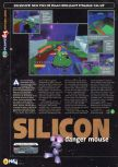 Scan of the preview of Space Station Silicon Valley published in the magazine N64 06
