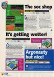Scan of the preview of UEFA Soccer '98 published in the magazine N64 07