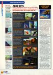 Scan of the review of Aero Fighters Assault published in the magazine N64 11