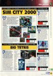 Scan of the preview of Tetris 64 published in the magazine N64 11, page 1