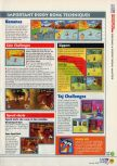 Scan of the walkthrough of Diddy Kong Racing published in the magazine N64 11, page 2