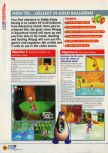 Scan of the walkthrough of Diddy Kong Racing published in the magazine N64 11, page 3