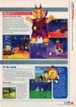 Scan of the walkthrough of Diddy Kong Racing published in the magazine N64 11, page 8