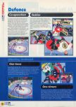 Scan of the walkthrough of Wayne Gretzky's 3D Hockey published in the magazine N64 11, page 3