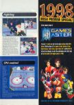 Scan of the walkthrough of Wayne Gretzky's 3D Hockey published in the magazine N64 11, page 4