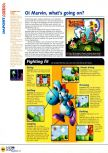 Scan of the review of Yoshi's Story published in the magazine N64 12, page 3