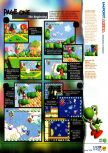 Scan of the review of Yoshi's Story published in the magazine N64 12, page 4