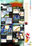Scan of the review of Yoshi's Story published in the magazine N64 12, page 6