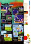 Scan of the review of Yoshi's Story published in the magazine N64 12, page 8