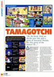 Scan of the review of 64 de Hakken! Tamagotchi Minna de Tamagotchi World published in the magazine N64 12