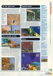 Scan of the walkthrough of Extreme-G published in the magazine N64 12, page 2