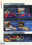 Scan of the walkthrough of Extreme-G published in the magazine N64 12, page 3