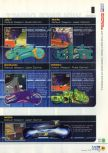 Scan of the walkthrough of Extreme-G published in the magazine N64 12, page 4