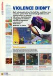 Scan of the walkthrough of Extreme-G published in the magazine N64 12, page 5