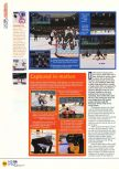 Scan of the review of NHL Breakaway 98 published in the magazine N64 14, page 3