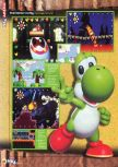 Scan of the review of Yoshi's Story published in the magazine N64 15, page 1