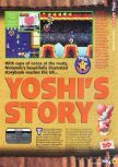 Scan of the review of Yoshi's Story published in the magazine N64 15, page 2
