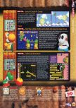 Scan of the review of Yoshi's Story published in the magazine N64 15, page 4