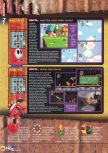 Scan of the review of Yoshi's Story published in the magazine N64 15, page 5