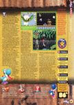 Scan of the review of Yoshi's Story published in the magazine N64 15, page 6