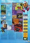 Scan of the review of Bomberman Hero published in the magazine N64 17, page 4