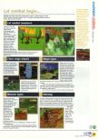 Scan of the review of Holy Magic Century published in the magazine N64 18, page 2