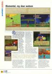 Scan of the review of Holy Magic Century published in the magazine N64 18, page 3