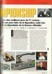 Scan of the preview of F1 Racing Championship published in the magazine Game On 09