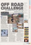 Scan of the review of Off Road Challenge published in the magazine N64 19