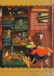 Scan of the walkthrough of Banjo-Kazooie published in the magazine N64 19