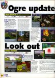 Scan of the preview of Penny Racers published in the magazine N64 23, page 1