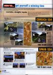Scan of the walkthrough of  published in the magazine N64 23, page 5