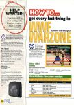 Scan of the walkthrough of WWF War Zone published in the magazine N64 27, page 1