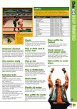 Scan of the walkthrough of WWF War Zone published in the magazine N64 27, page 2