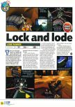 Scan of the preview of Lode Runner 3D published in the magazine N64 27, page 1