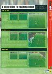 Scan of the walkthrough of FIFA 99 published in the magazine N64 28, page 2