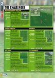 Scan of the walkthrough of FIFA 99 published in the magazine N64 28, page 3