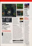 Scan of the review of Tarzan published in the magazine Game On 10