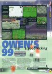 Scan of the preview of Michael Owen's World League Soccer 2000 published in the magazine N64 29, page 2