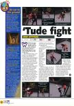 Scan of the preview of WWF Attitude published in the magazine N64 29, page 1