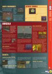 Scan of the walkthrough of Castlevania published in the magazine N64 29, page 4