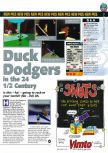 Scan of the preview of Duck Dodgers Starring Daffy Duck published in the magazine N64 31, page 1