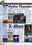 Scan of the preview of X-Men: Mutant Academy published in the magazine N64 36, page 1