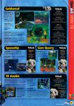 Scan of the walkthrough of Jet Force Gemini published in the magazine N64 36, page 2